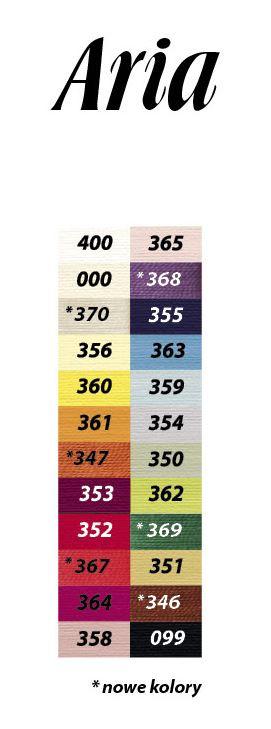 Karta kolorów ARIA 5