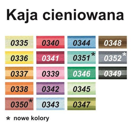 Karta kolorów KAJA 50x3 cieniowana