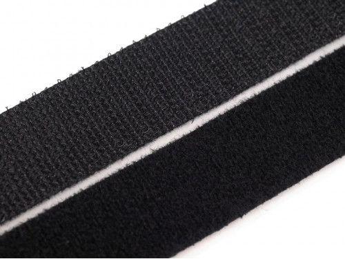 rzep taśma dwustronna 20 mm czarna