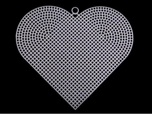 kanwa plastikowa serce