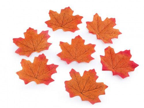 liście do dekoracji klonowe