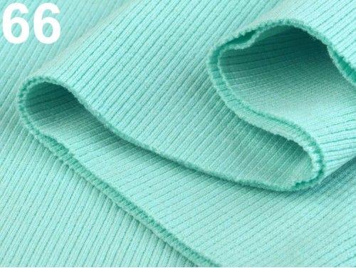 ściągacz elastyczny bawełna miętowy