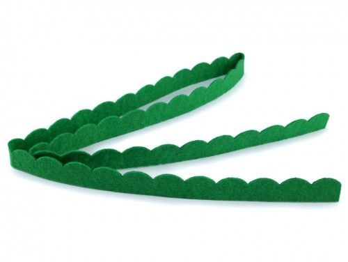 trawa z filcu zielona