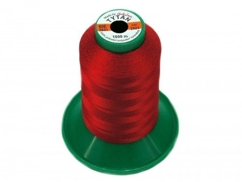 Nici TYTAN 60E 2523 czerwony 1000m