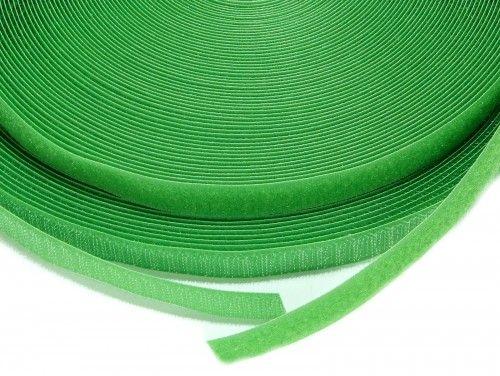 Taśma rzep 16 mm zielona