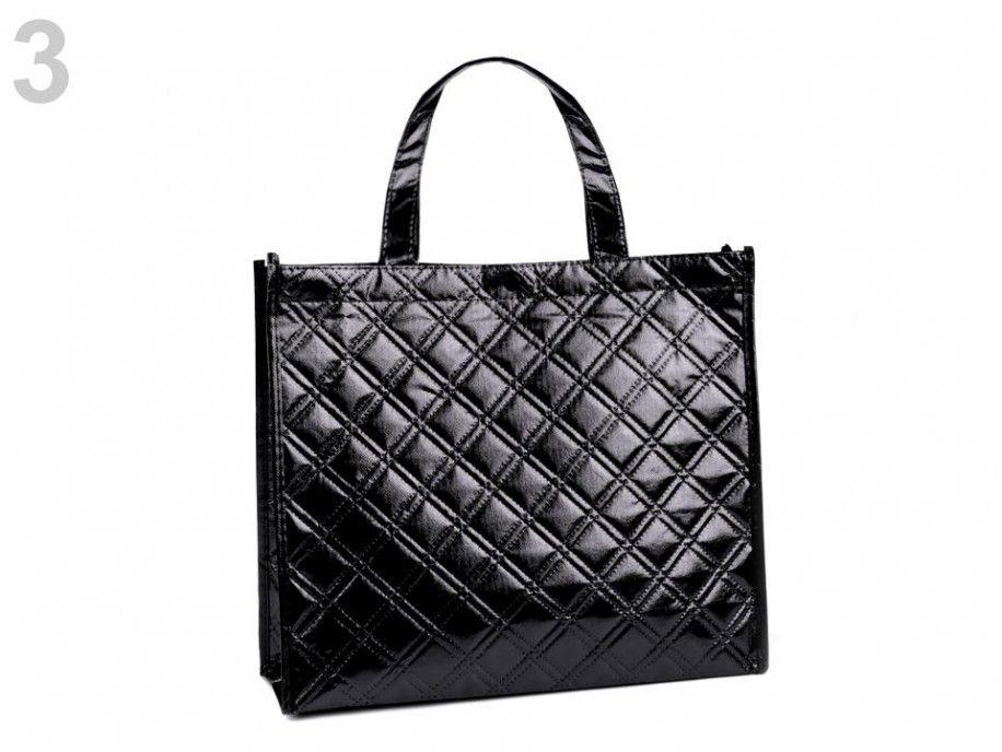 torba metaliczna czarna