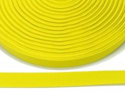 guma płaska 20 mm - żółta