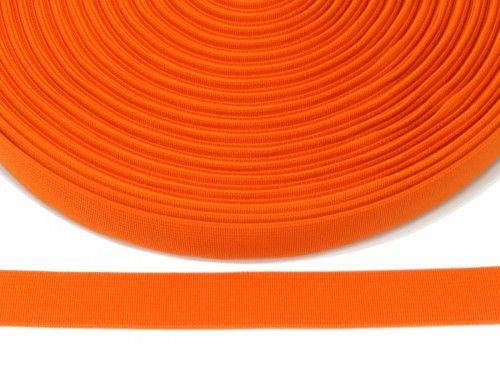 guma płaska 20 mm - pomarańczowa