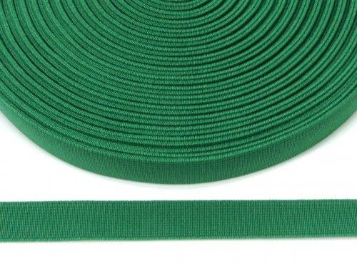 guma płaska 20 mm -zielona ciemna