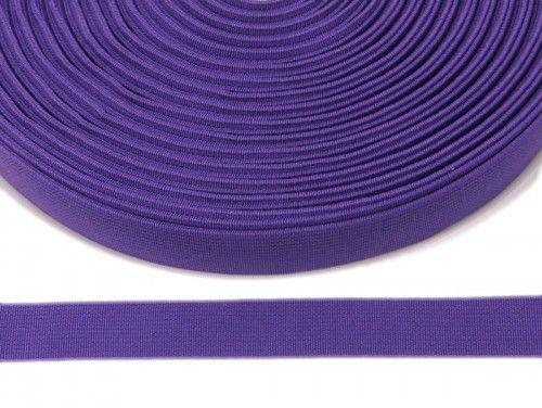 guma płaska 20 mm - fioletowa