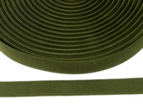 guma płaska 20 mm - khaki