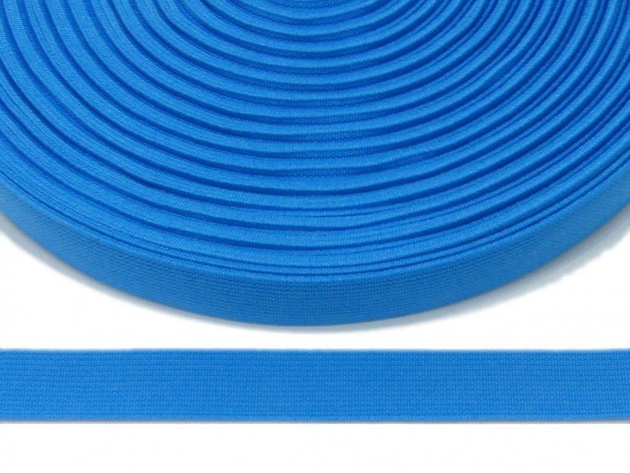 guma płaska 20 mm - turkusowa