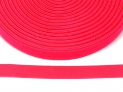 guma płaska 20 mm - różowa odblaskowa