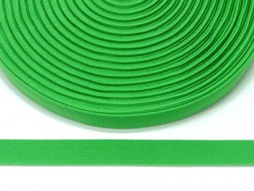 guma płaska 20 mm -zieleń wiosenna