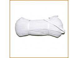 guma tkana biała 9mm