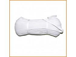 guma tkana biała 15mm rolka 50 m