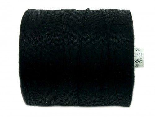 COTTO 20 bawełna 30x4 czarne 0099 1000m