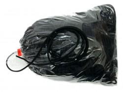 guma okrągła 3 mm czarna paczka 100 metrów