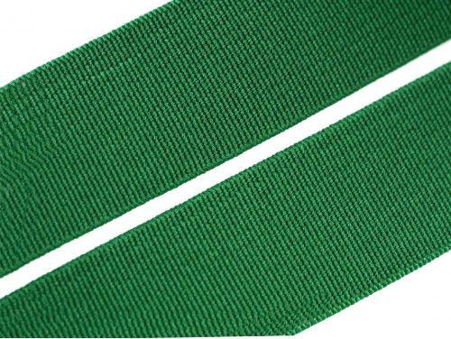 guma płaska 20 mm zielona