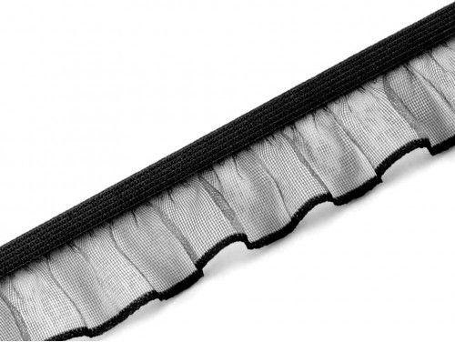 guma z falbanką 18mm czarna
