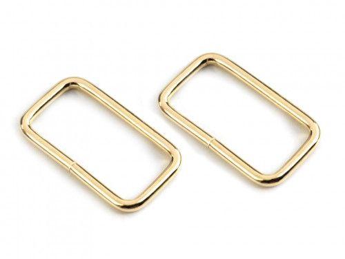 ramka metalowa 25- złota