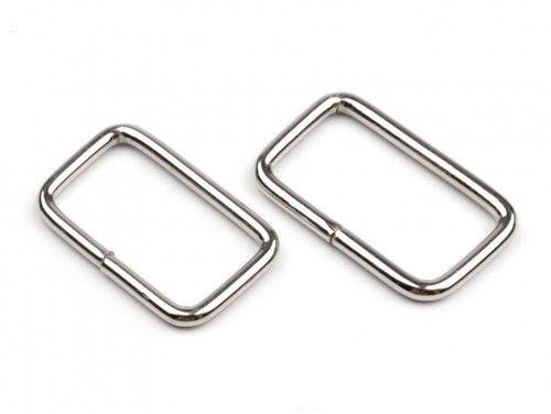 ramka metalowa 25- srebrna