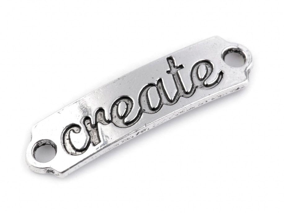 łącznik napis - CREATE
