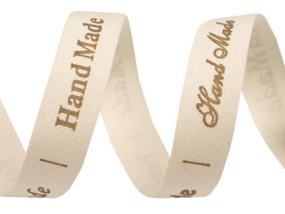 wstążka bawełniana HAND MADE