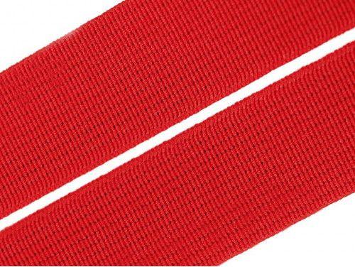 guma płaska 20 mm czerwona