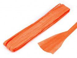 wstążka papierowa pomarańczowa 27m