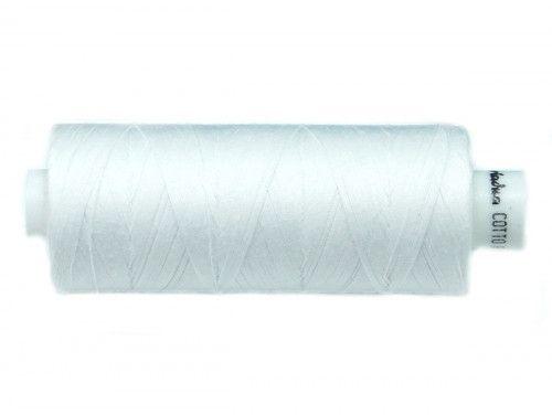 Nici bawełniane COTTO 80 białe-0400 500m