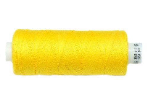 Nici bawełniane COTTO 80 żółte 1505 500m