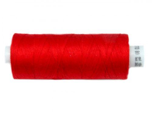Nici bawełniane COTTO 80 czerwone 1554 500m