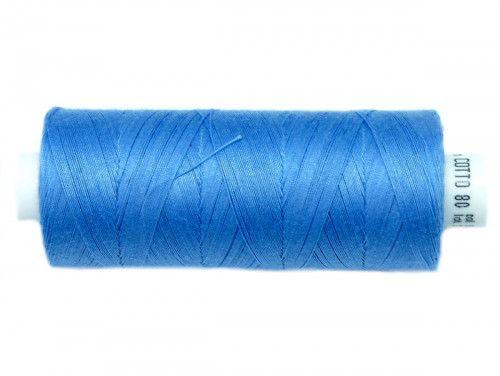 Nici bawełniane COTTO 80 niebieskie 1623 500m