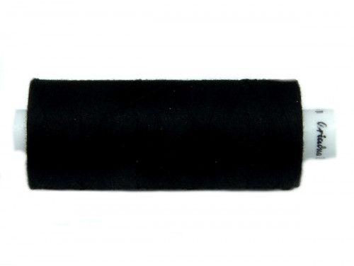 Nici bawełniane COTTO 80 czarny 0099 500m