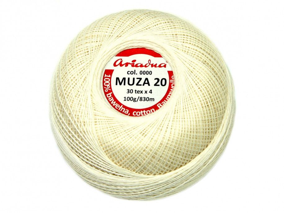 Kordonek MUZA 20 (30x4) 0000 naturalny ARIADNA