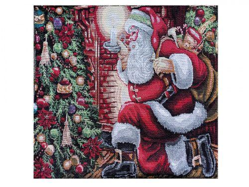 poszewka na poduszkę Mikołaj-dwustronna