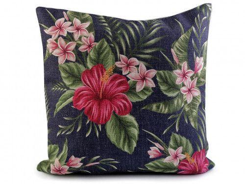 poszewka na poduszkę kwiaty