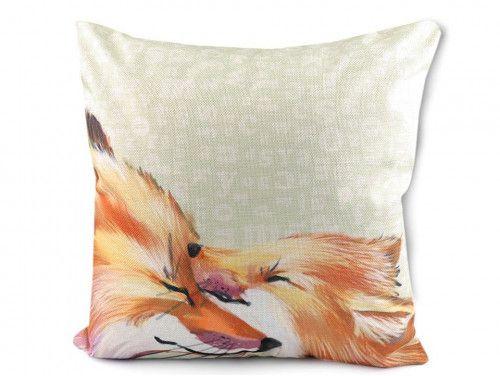 poszewka na poduszkę lisy 3