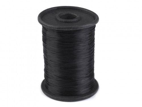żyłka nylonowa 0,25mm czarna