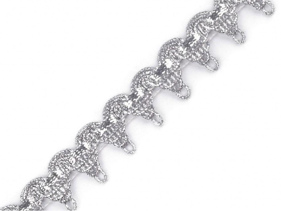 taśma metalizowana srebrna