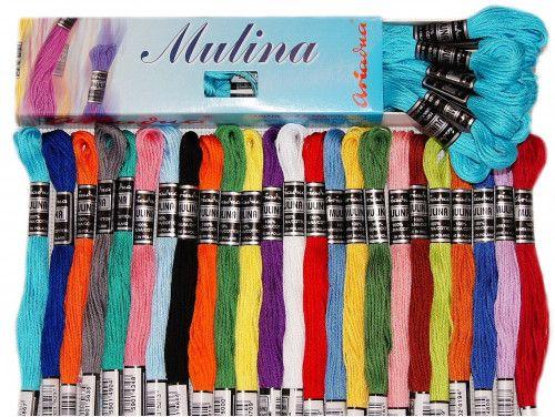 Ariadna Mulina motek 8m 385 kolorów