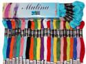 Mulina ARIADNA 8m wszystkie 385 kolorów