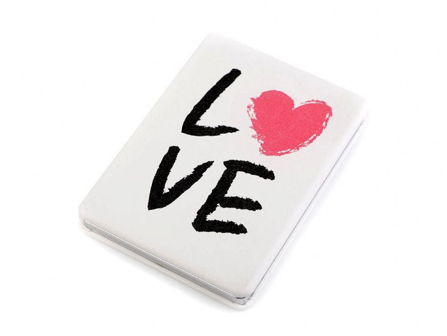 lusterko kieszonkowe LOVE