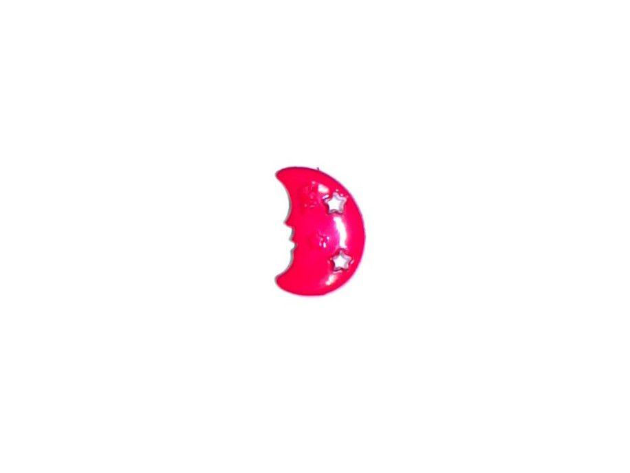 Guziczek dziecięcy czerwony księżyc