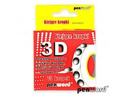 klejące kropki 3D -75