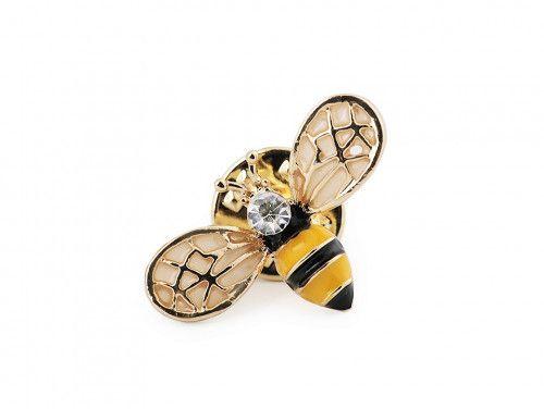 przypinka-pins pszczoła