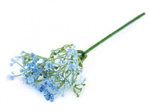 gipsówka sztuczna niebieska