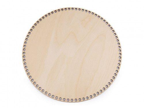 dno do koszyka drewniane, 25 cm