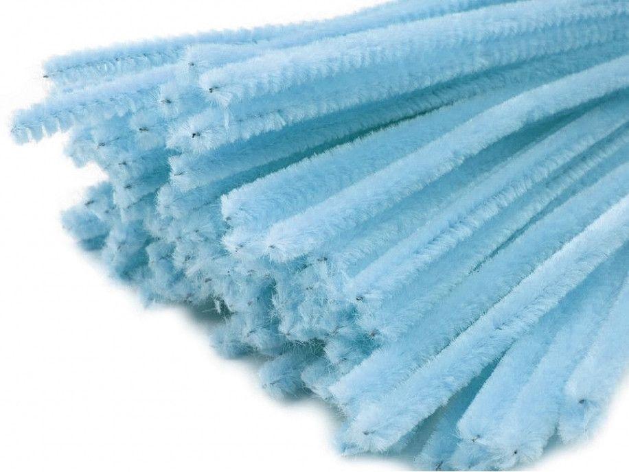 drut pluszowy niebieski jasny op.10